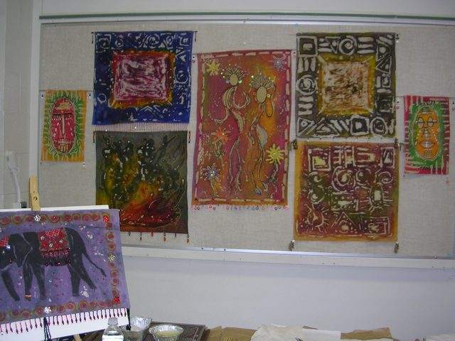 Breakfast Television (Batik Display)