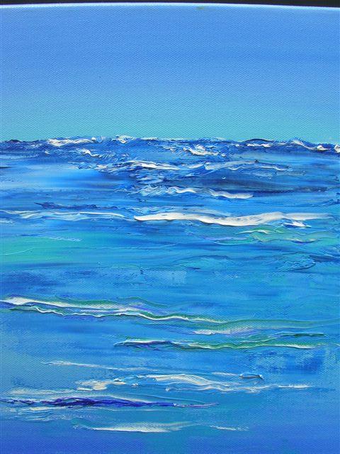 "Blue Mirage. 12"" x 16"" - [Sold]"