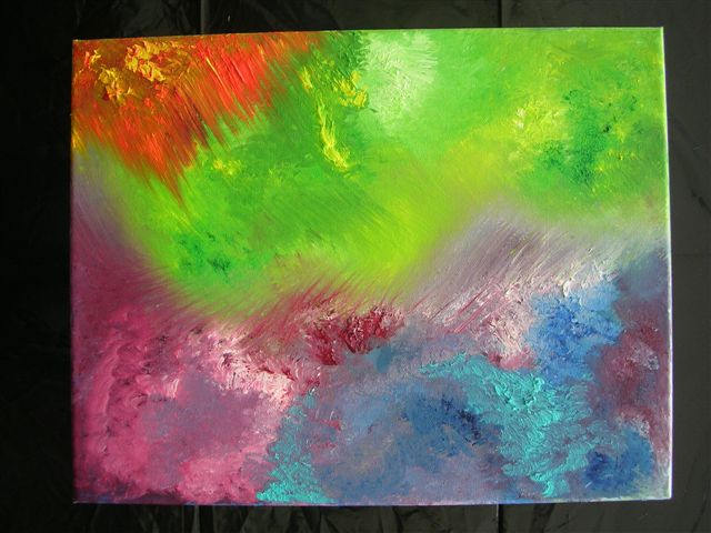 "Colour Blaze.12"" x 16"" - [Sold]"