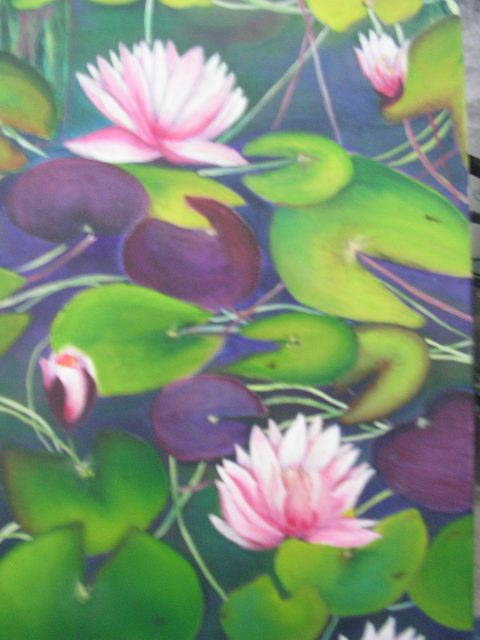 The Lily Pad  (Sold)